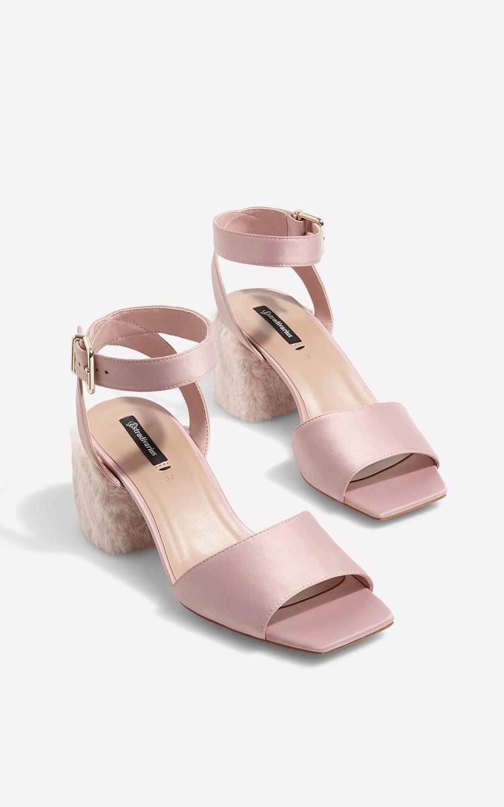 magasiner pour véritable Nouveaux produits gamme exclusive Sandale Stradivarius - Verdict.ro