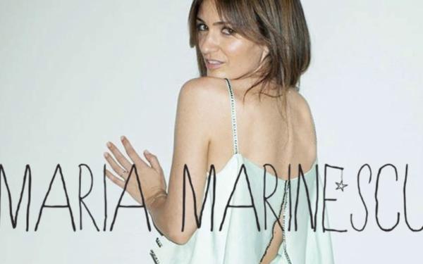 Maria Marinescu, pasionată de modă încă din clasa a V-a