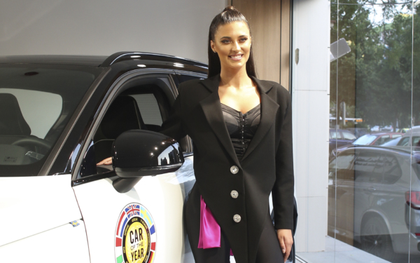 Antonia, noua ambasadoare a mașinilor Volvo, în România