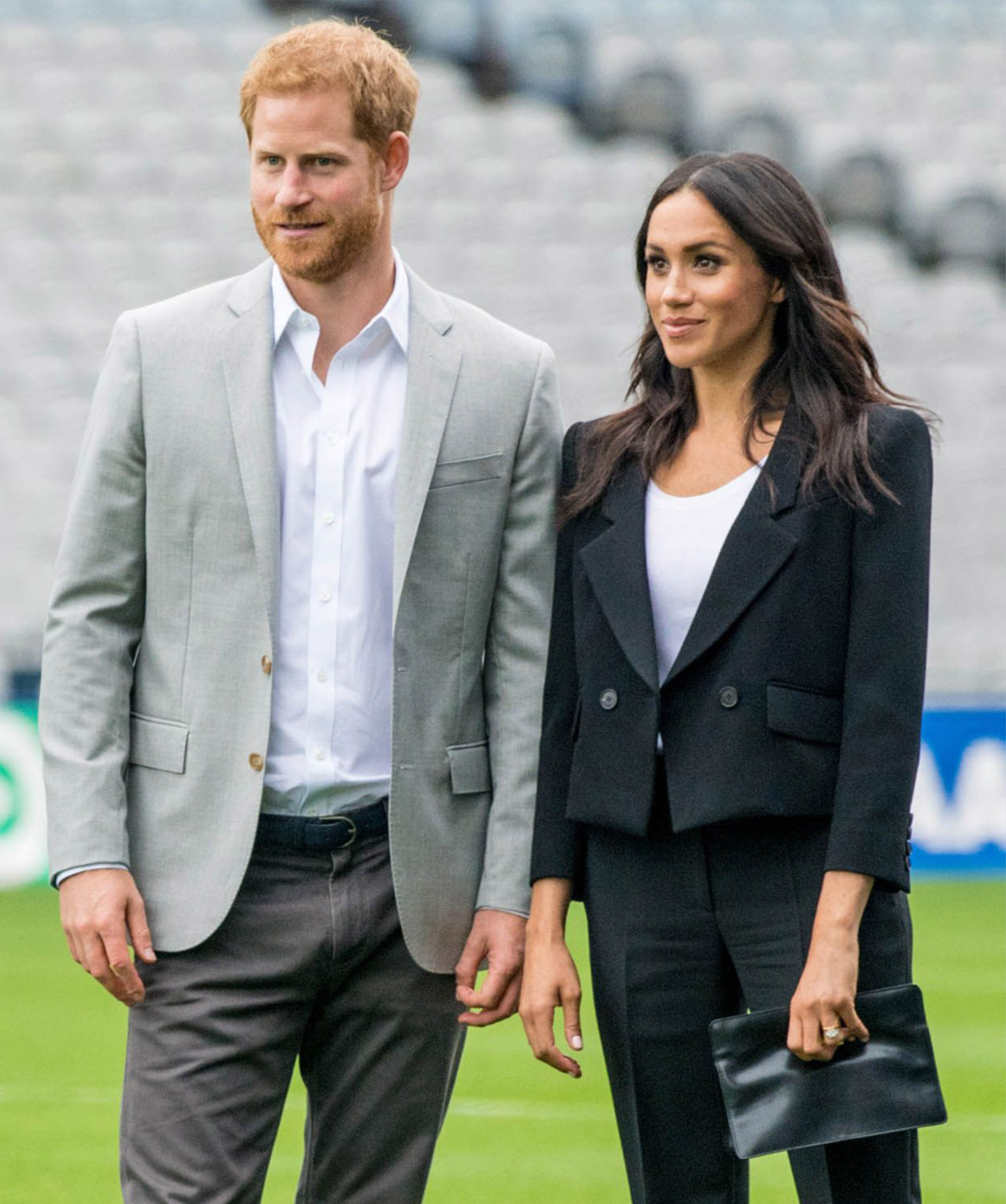 Meghan Duchess Of Sussex And Prince Harry Duke Of Sussex Visit Croke Park In Dublin