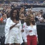 Michelle Obama - cel mai mare fan al lui Beyonce! Uite ce outfit a ales fosta Primă Doamnă a Americii