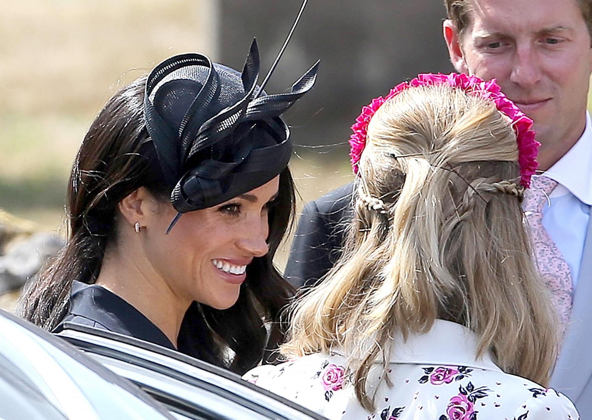 Coafura purtată de Meghan Markle de ziua ei completată de un truc de styling neașteptat