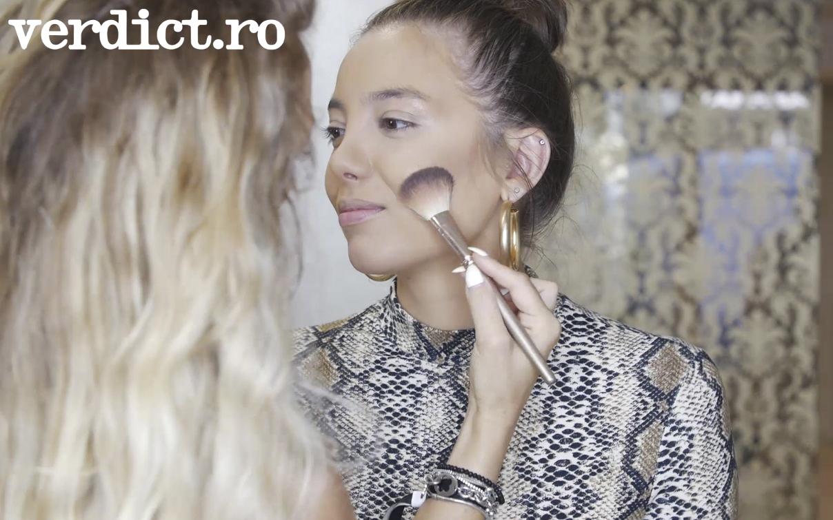 Make-up tutorial: cum să te machiezi corect. Învată de la Bianca Marca cum să aplici fondul de ten