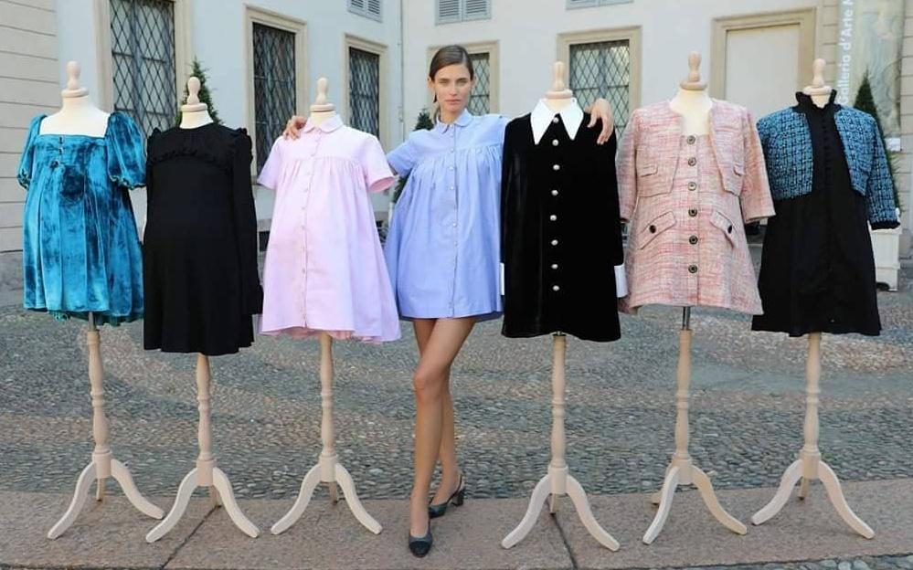 Bianca Balti și-a lansat o colecție de haine pentru gravide