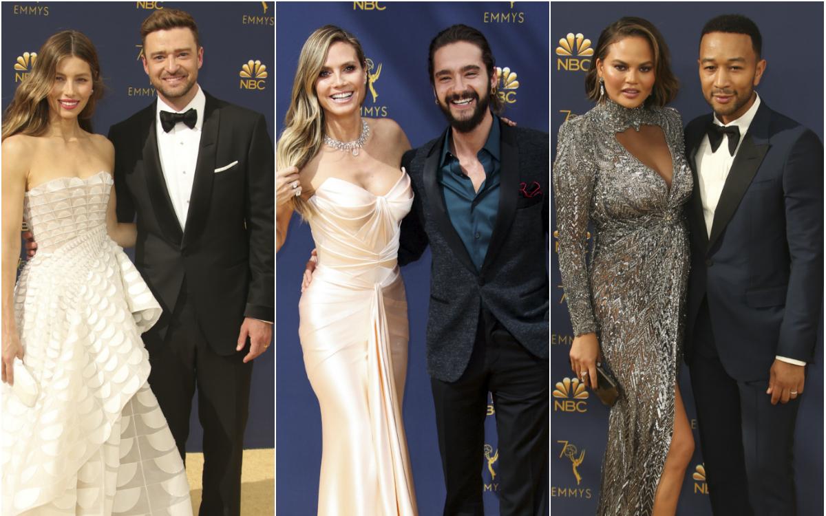 Cele mai frumoase cupluri de la Premiile Emmy 2018