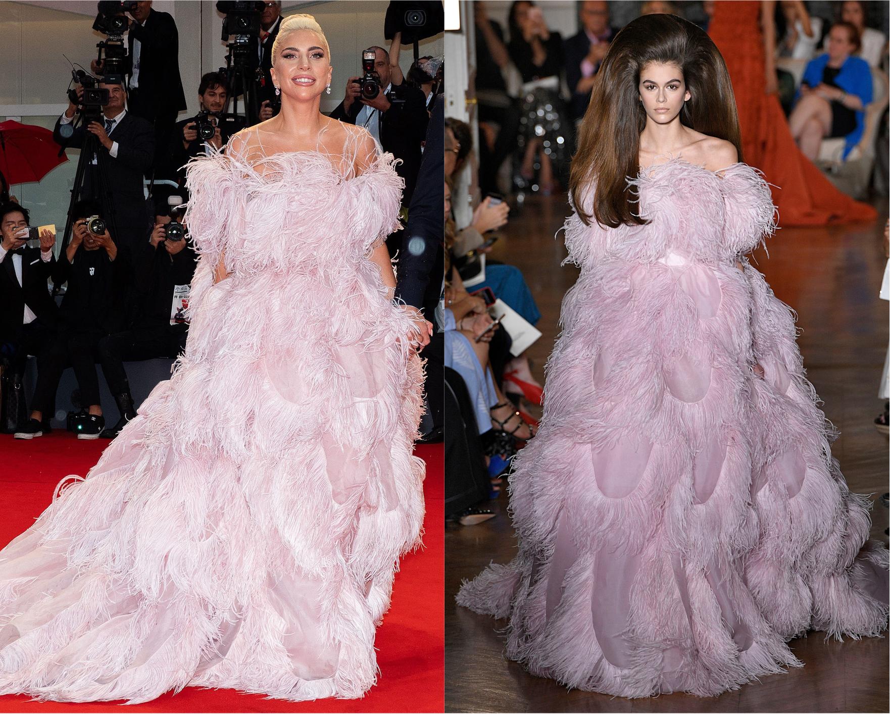 Cui îi stă mai bine: Lady Gaga vs. Kaia Geber