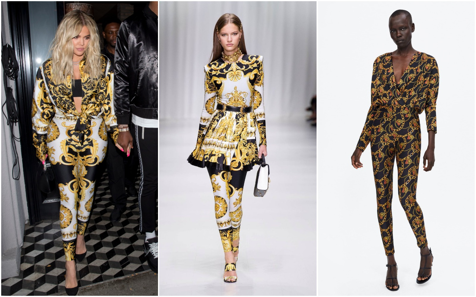 Ups! Versace a dat lovitura sezonul acesta! Iata cine l-a copiat!