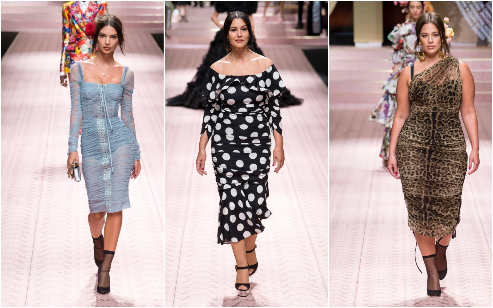 Colecția Dolce & Gabbana Primăvară/Vară 2019 celebrează femeia și diversitatea!