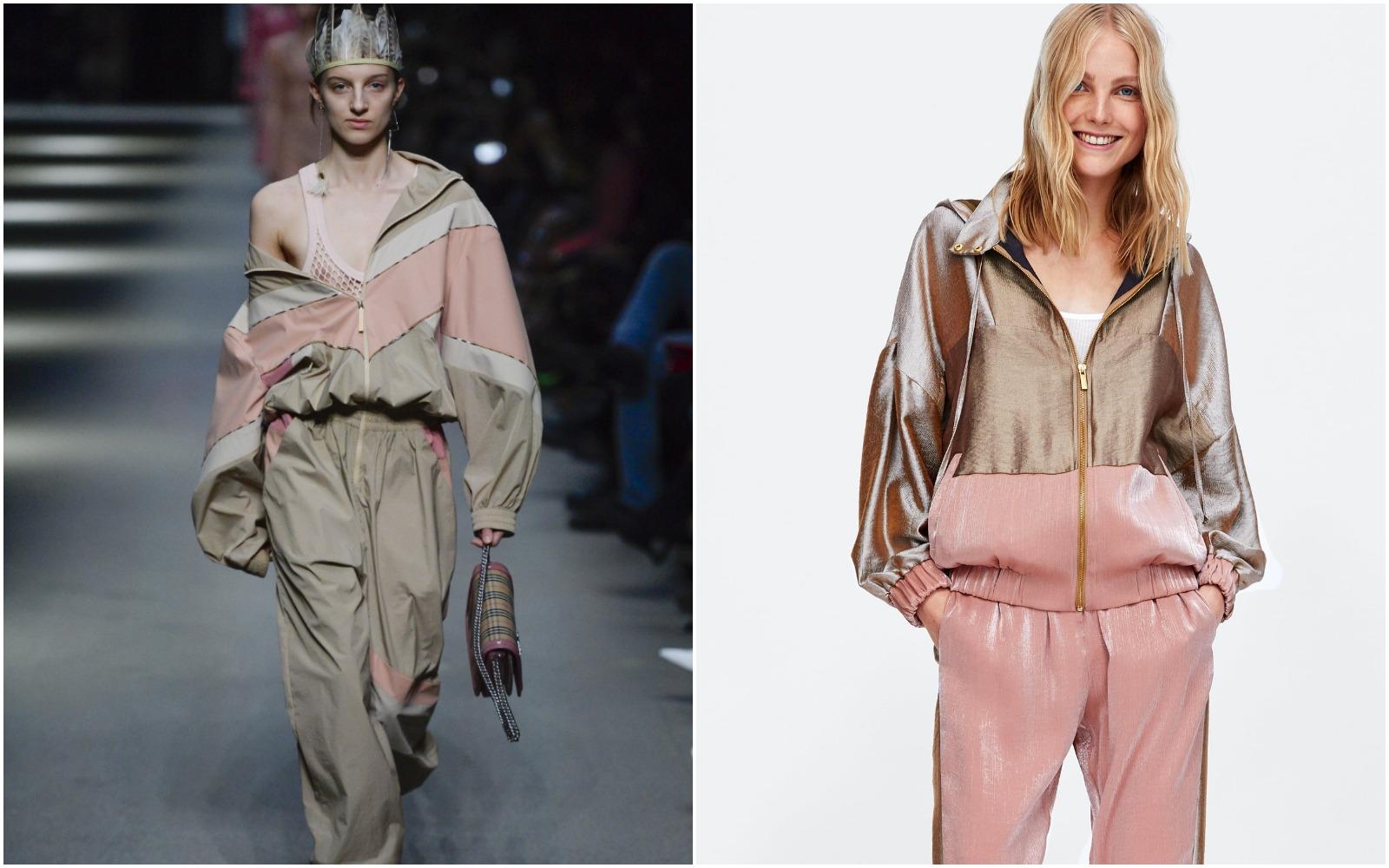 Ups! Burberry sau Zara, o ținută sport aproape identică!