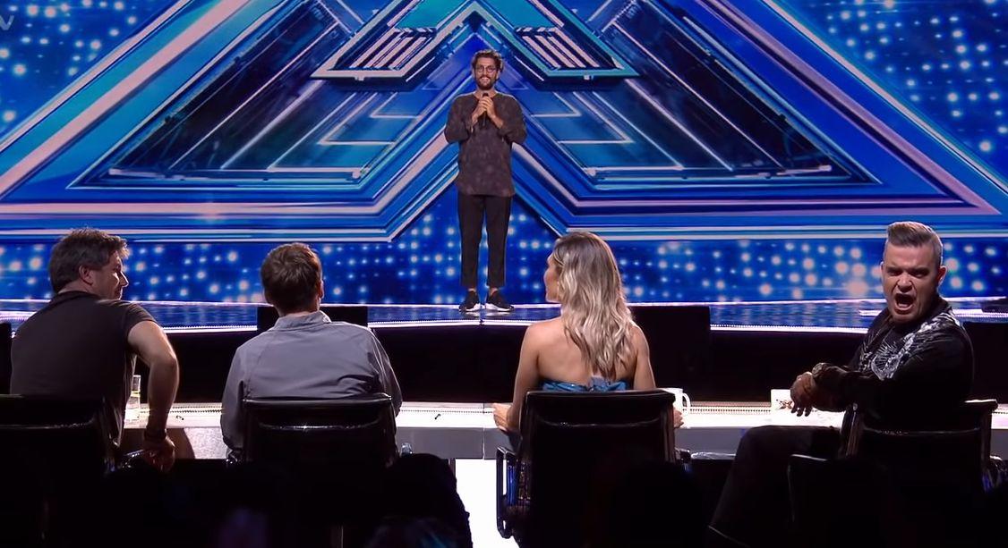 Cezar Ouatu a ridicat sala în picioare în cea de-a doua ediție X Factor UK