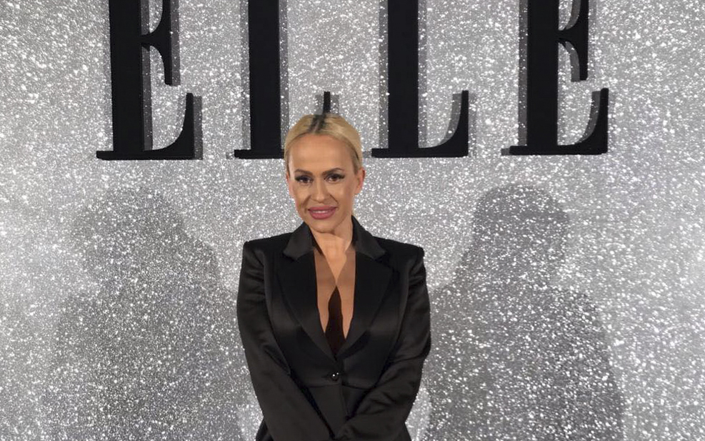 Anda Adam, superbă la Elle Style Awards! Ce ținută a purtat artista