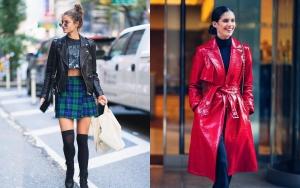 Culorile anului 2019 în modă. Taylor Hill și Sara Sampaio streestyle în New York înainte de Show-ul Victorias Secret