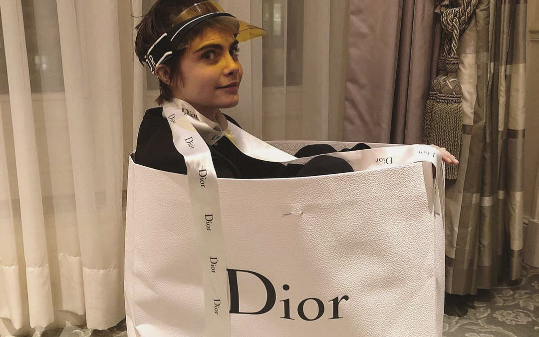Cara Delevingne – noua imagine Dior, Addict Lipstick