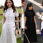 Meghan Markle și fosta iubită a Printului Harry au îmbrăcat aceeași rochie