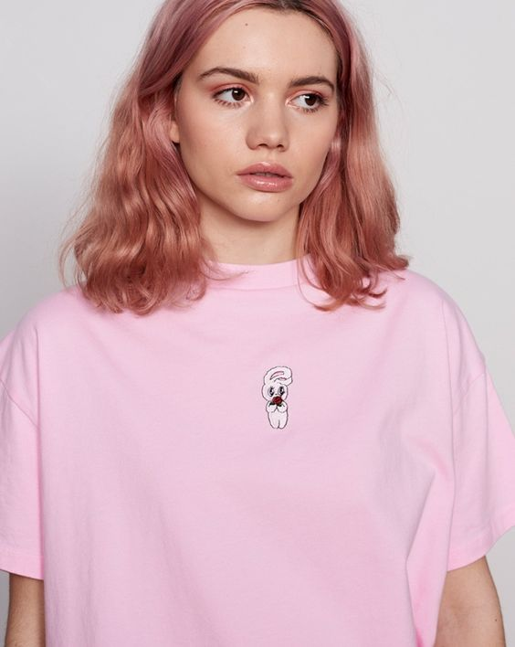 Culori De Păr La Modă în 2019 Roz Deschis Scurt Bucle Verdictro