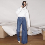 Jeanșii asimetrici - trendul controversat despre care nici cei mai împătimiți fani ai modei nu știu ce să spună