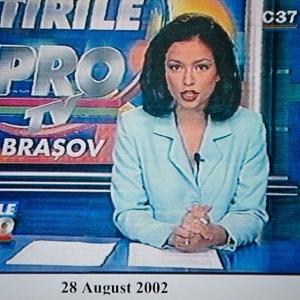Olivia Steer, la începutul carierei în jurnalism