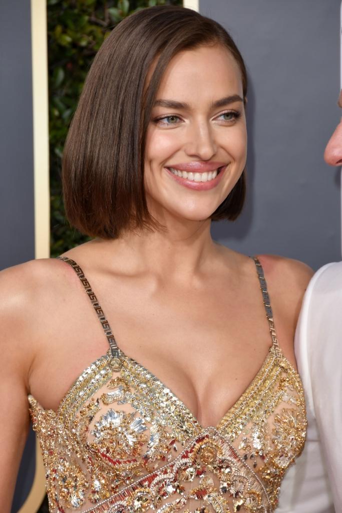 Cele mai frumoase coafuri de la Globurile de Aur 2019 - Irina Shayk