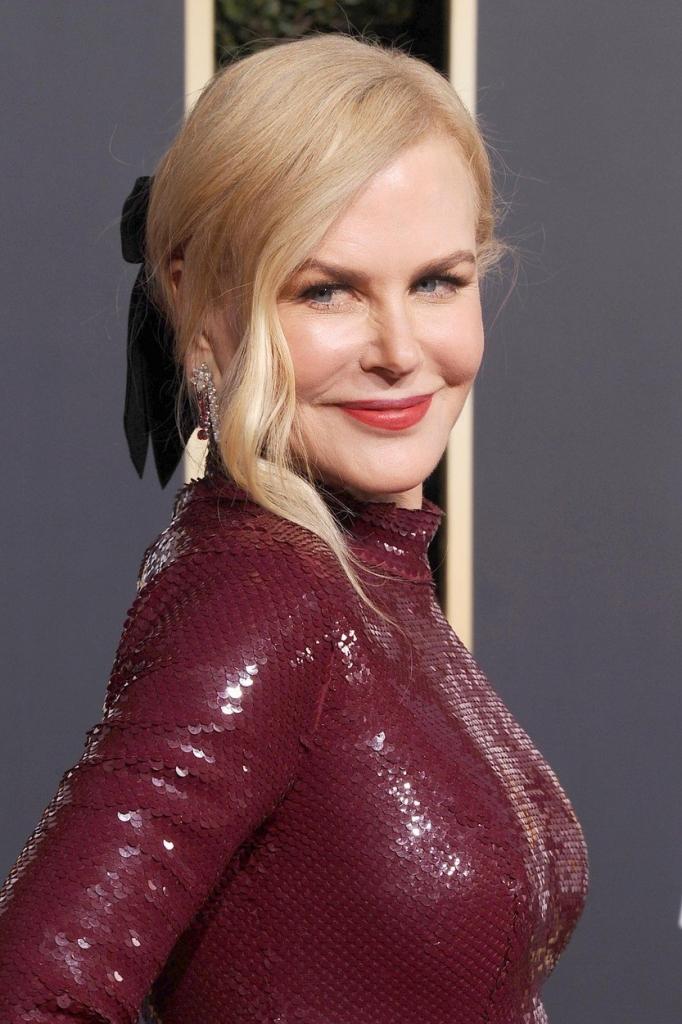 Cele mai frumoase coafuri de la Globurile de Aur 2019 - Nicole Kidman
