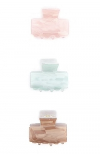 Agrafe sidefate - Forever21 - Faux Shell Hair Claw Set