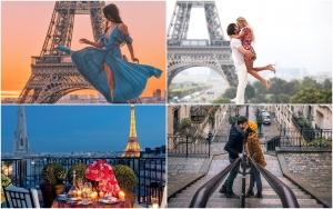Destinații romantice Valentine's Day 2019 Paris Instagram Cea mai căutată destinație de Ziua Îndrăgostiților