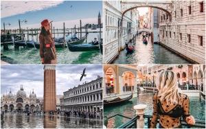 Destinații romantice Valentine's Day 2019 Veneția Instagram Vacanță de Ziua Îndrăgostiților