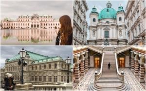 Destinații romantice Valentine's Day 2019 Viena, Austria, imagini Instagram