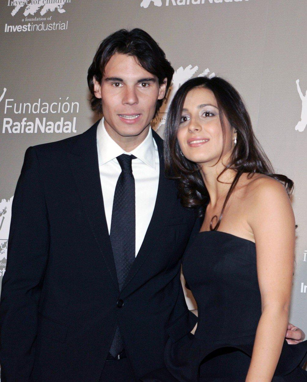 Rafael Nadal și Mery Perell