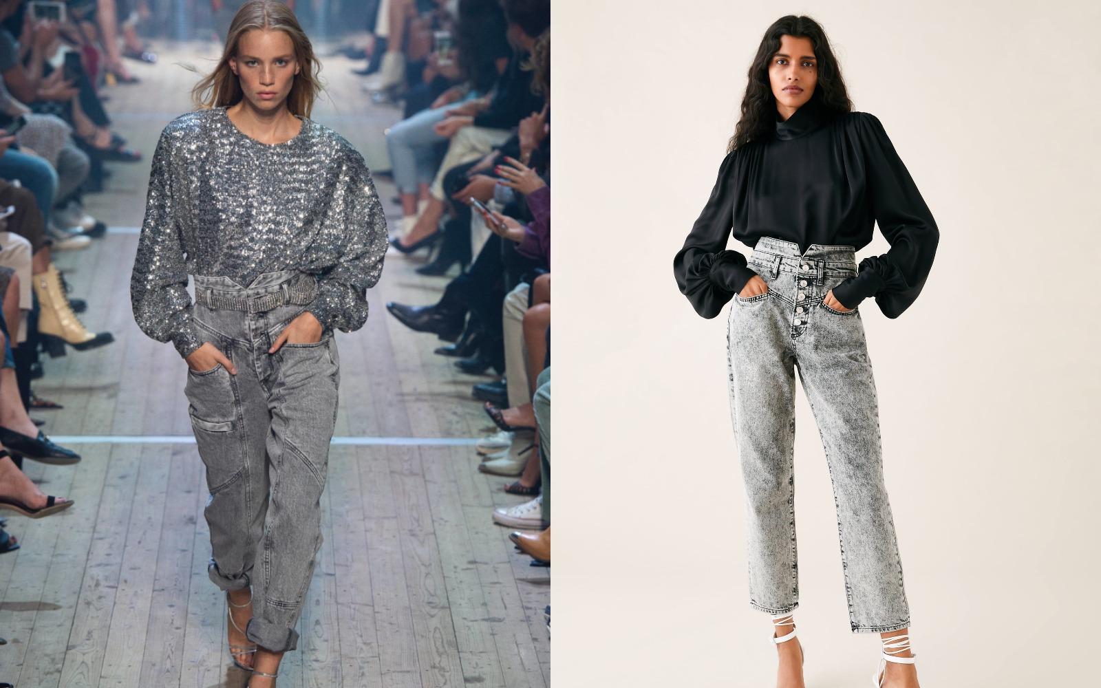 Uuuups! Jeanşii Isabel Marant au ajuns la Zara?