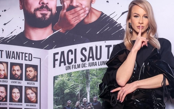 VIDEO EXCLUSIV: Sandra Izbașa, dezvăluiri despre cariera de actriță