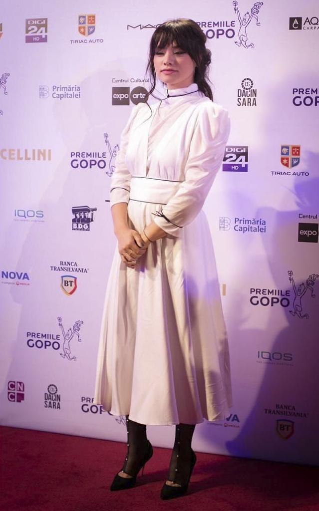 Vedete bine îmbrăcate premiile gopo 2019. Aylin Cadîr