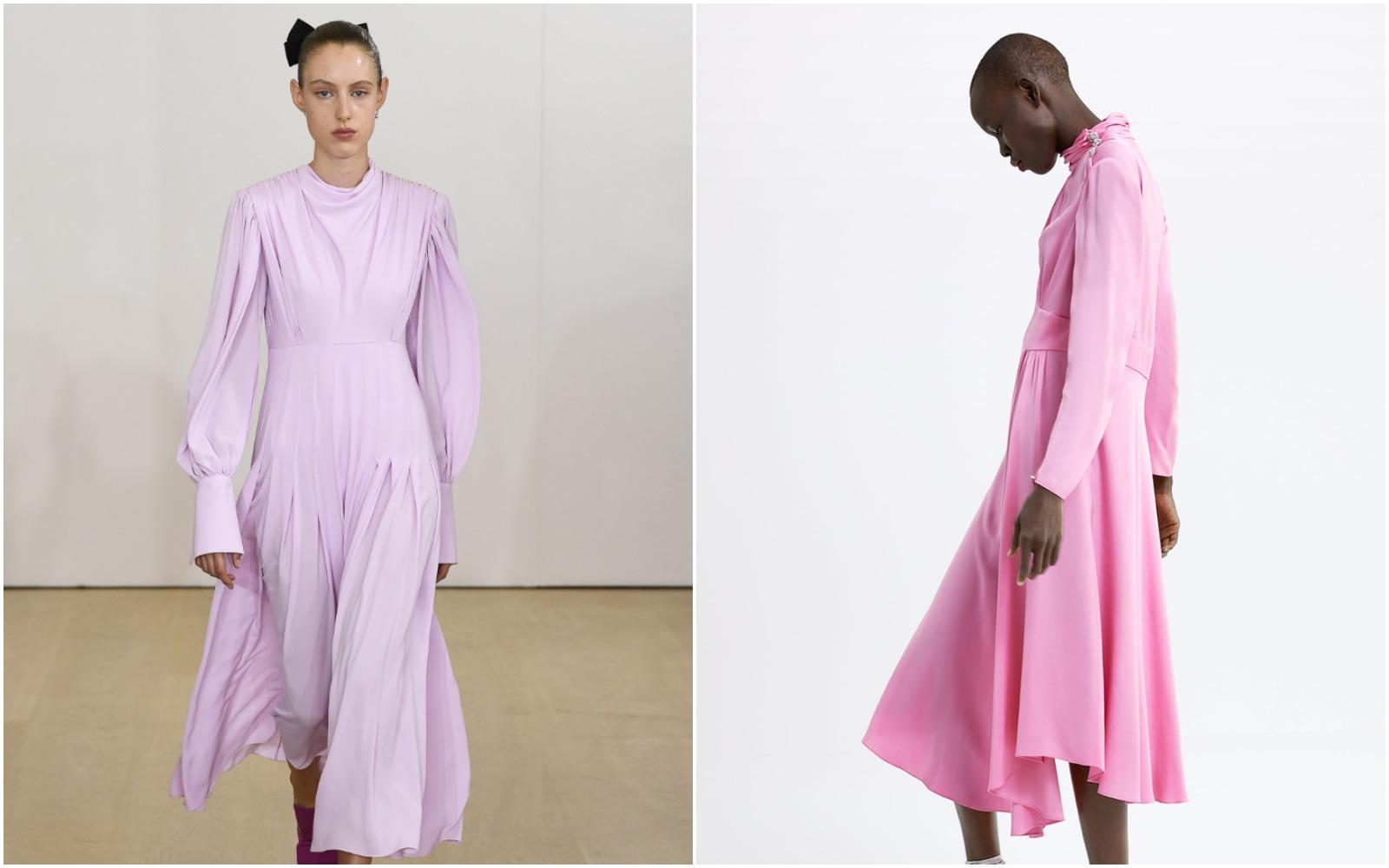 Uuups! O ediţie limitată Zara inspirată de o rochie Emilia Wickstead