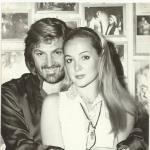 Cu ea s-a iubit Florin Piersic în timpul căsniciei cu Anna Szeles! Cât de frumoasă este GabrielaWerner