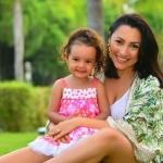 Ce fiică frumoasă și talentată are Andra