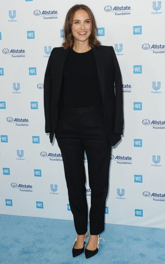 Natalie Portman la WE Day California 2019
