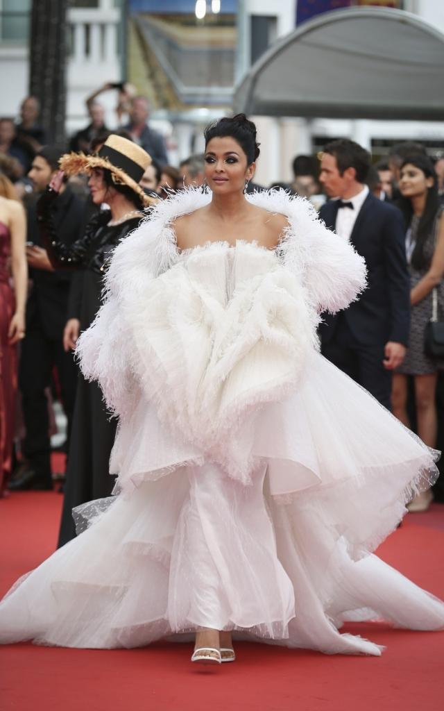 Aishwarya Rai în Ashi, Festivalul de Film de la Cannes 2019