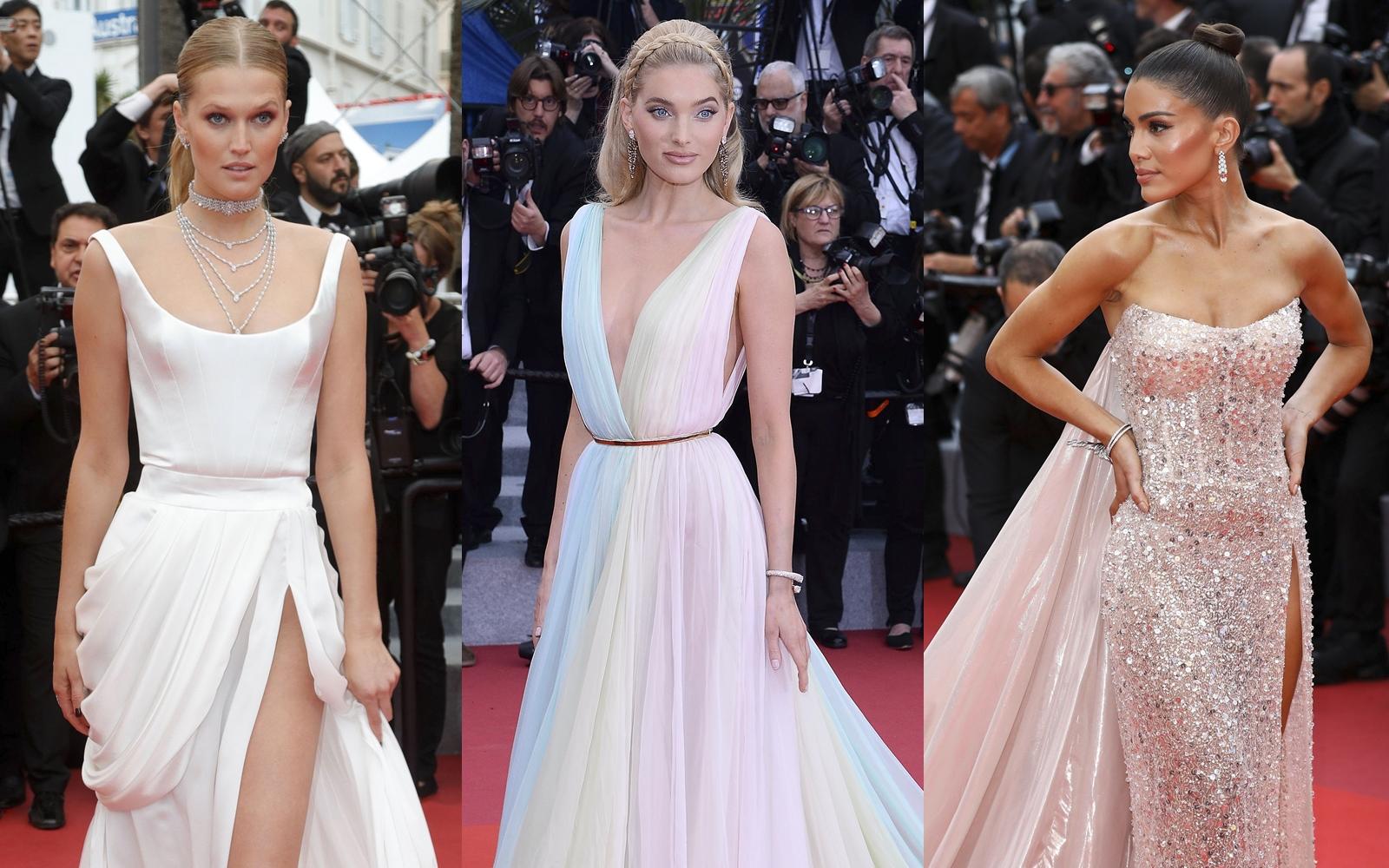 Ce au purtat celebritățile în a șasea seară a Festivalului de Film de la Cannes 2019