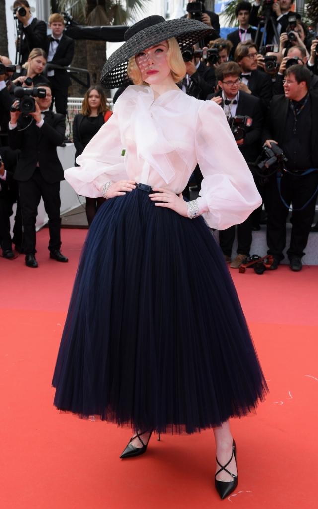 Elle Fanning în Dior, Festivalul de la Cannes 2019