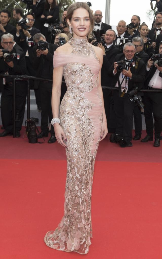 Natalia Vodianova în Versace, Festivalul de Film de la Cannes 2019