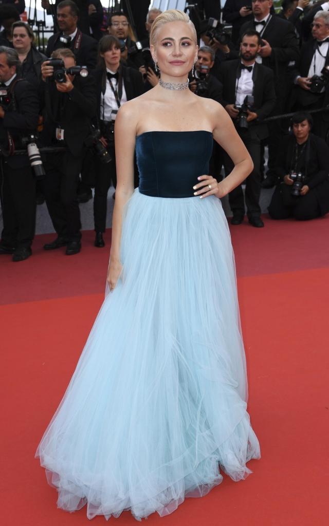 Pixie Lott în Yanina Couture, Festivalul de Film de la Cannes 2019