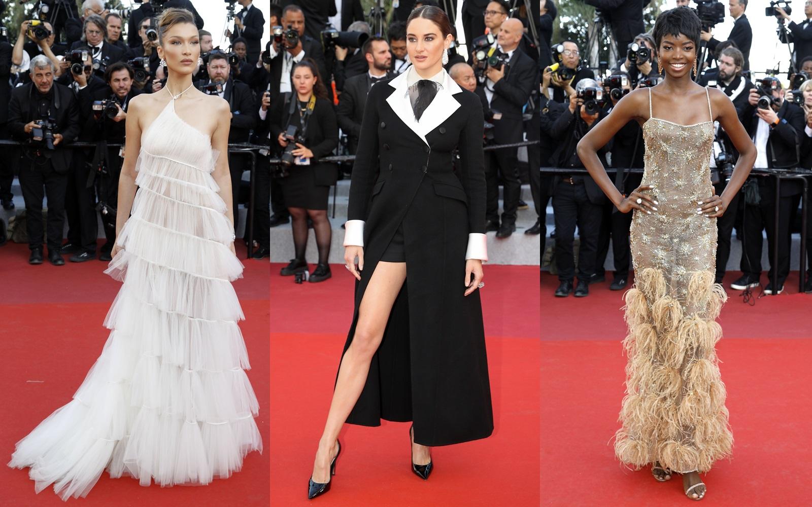 Ce au purtat celebritățile în a treia seară a Festivalului de Film de la Cannes 2019