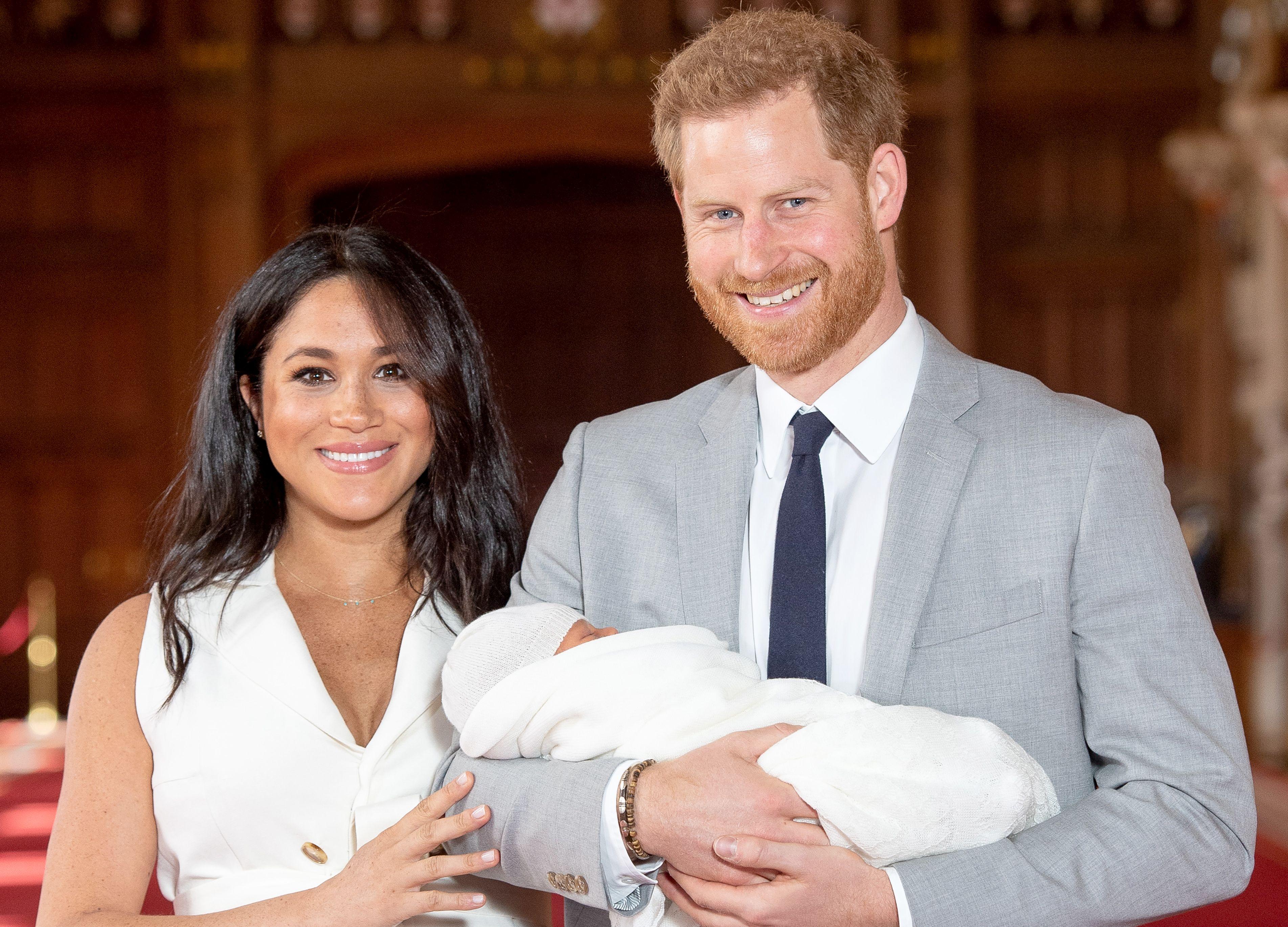 Fotografia emoționantă publicată de Prințul Harry și Meghan Markle cu micuțul Archie