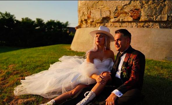 Alina Ceușan s-a căsătorit