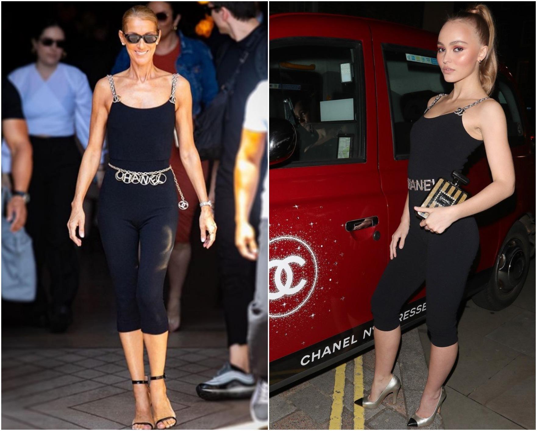 Cui îi stă mai bine: Celine Dion vs. Lily-Rose Depp