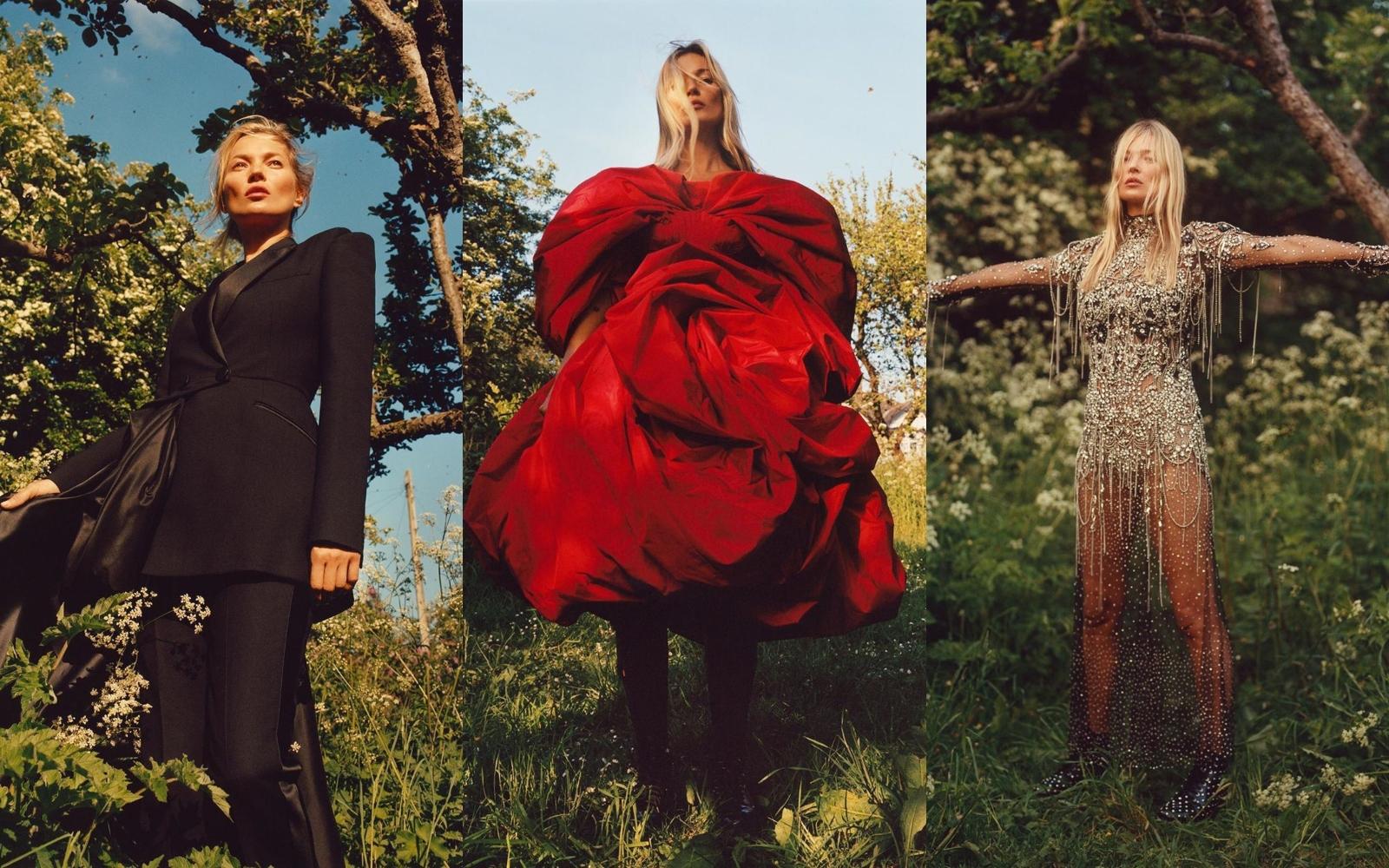 Kate Moss în noua campanie Alexander McQueen