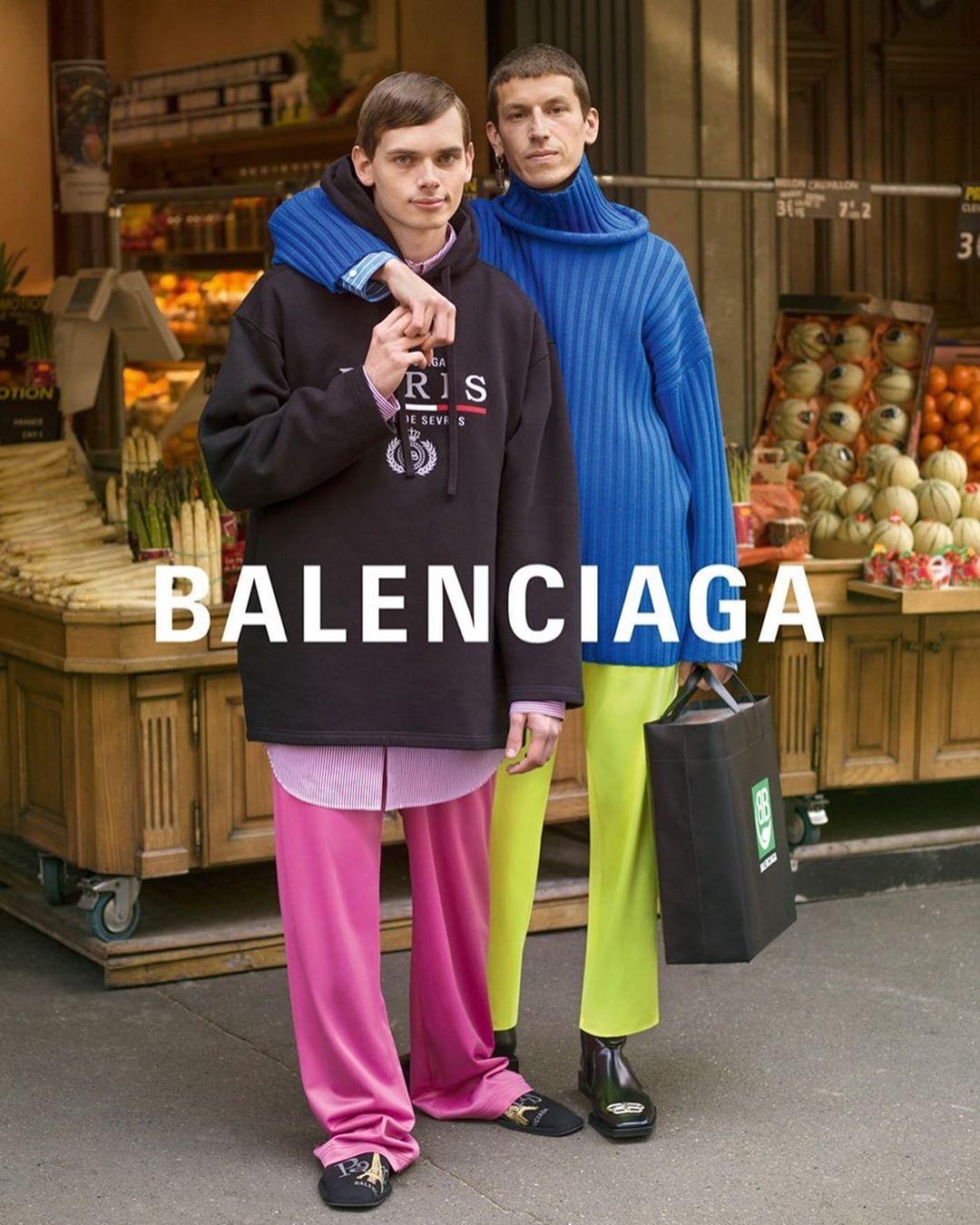 Campania Balenciaga pentru sezonul Toamnă/Iarnă. Povești de dragoste în Paris