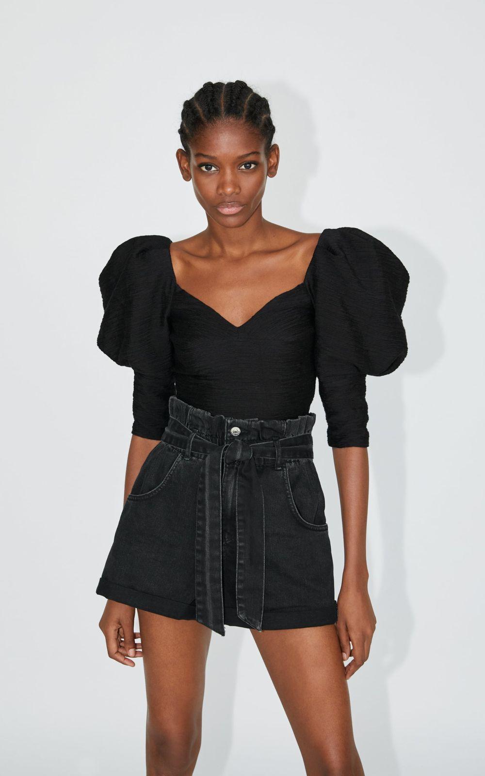 Pantaloni scurţi denim Zara
