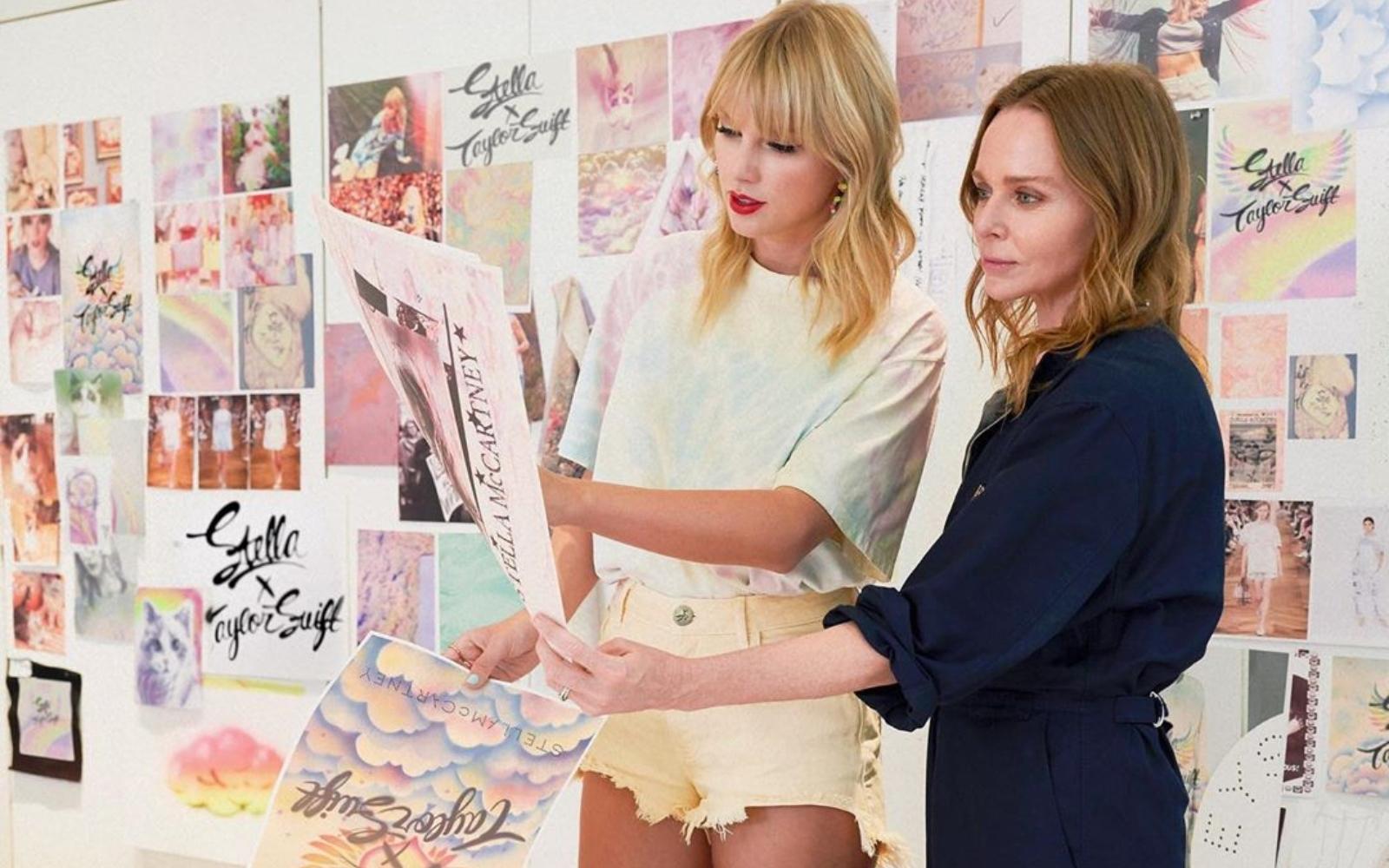 Tot ce trebuie să știi despre colecția Stellei McCartney în colaborare cu Taylor Swift