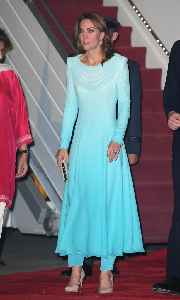 Kate Middleton, la sosirea în Pakistan