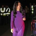 Meghan Markle, superbă într-o rochie mov la summitul 'One Young World'